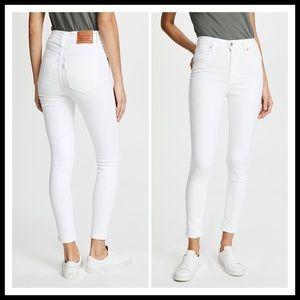ARITZIA LEVI'S Mile High Super Skinny Ankle Jean